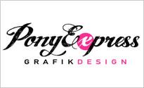 Ponyexpress Grafikdesign