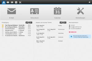 Webmailer - Start