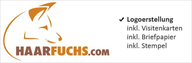 Logoerstellung für Haarfuchs.com