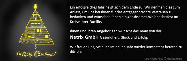 Xmas-Gruss - Netrix GmbH 2014