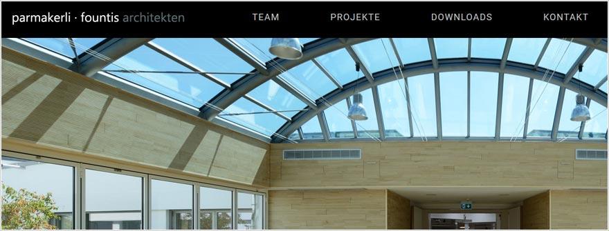 Parmakerli · Fountis Gesellschaft von Architekten mbH - Redesign